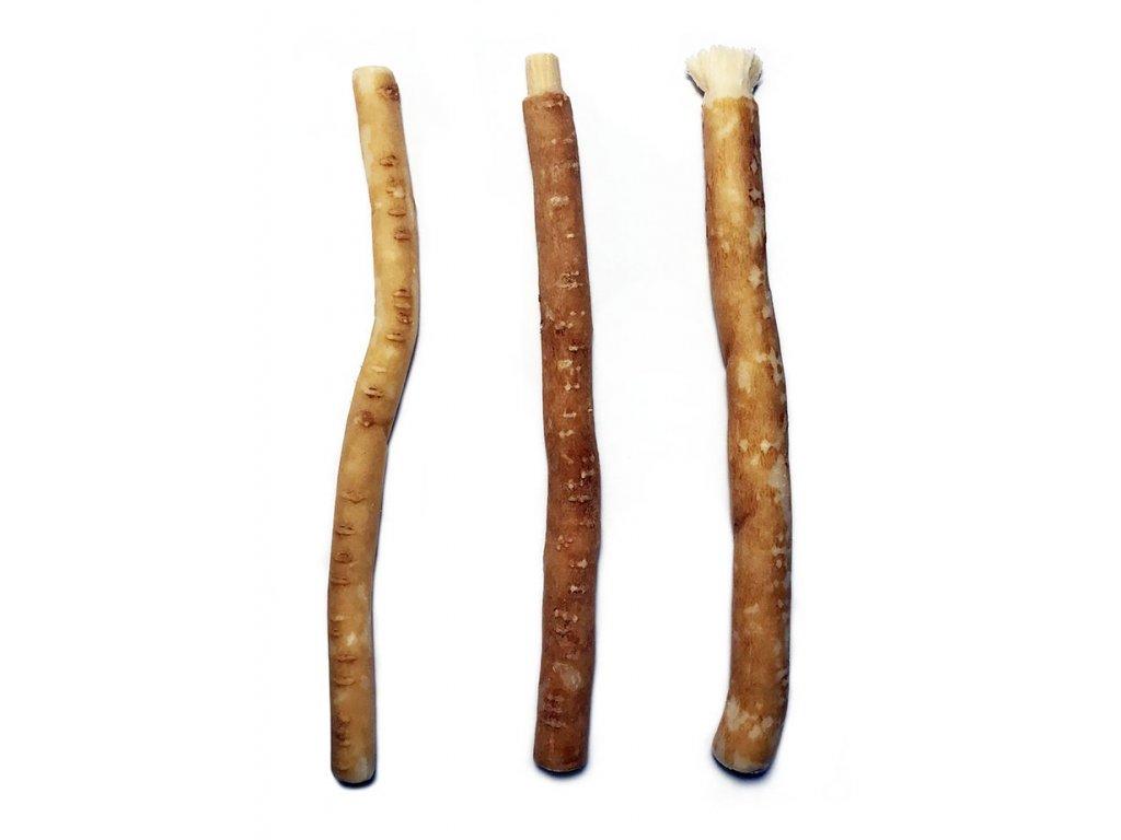 Přírodní zubní kartářek ze stromu salvadora perská