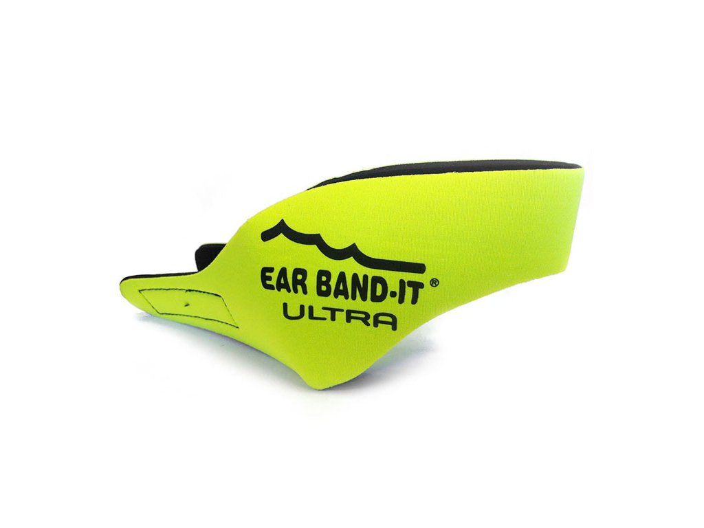 Ear band it Ultra Čelenka na uši na plavání Žlutá