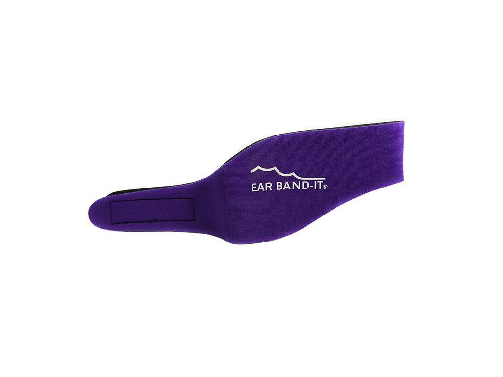 Ear Band It čelenka na uši na plavání Fialová