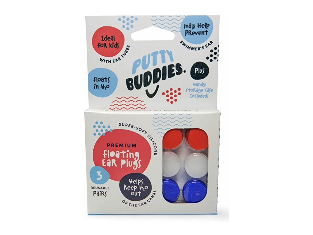Putty Buddies Ear Plugs štuple do uší do vody
