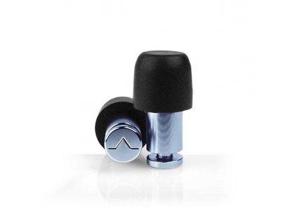 Isolate Mini Aluminium Denim Blue Hliníkové špunty modré