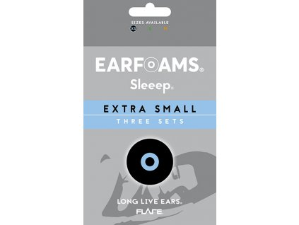 Sleep Earfoams Náhradní polštářky extra small 3 páry