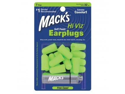 Hi Viz Soft Foam Ear Plugs 7 Pair
