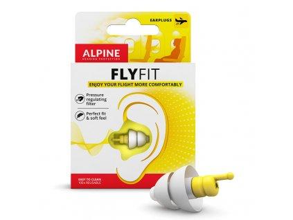 Alpine flyfit špunty do letadla obsah balení