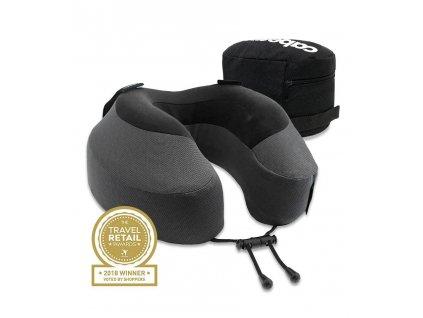 Cabeau Evolution S3 Cardinal cestovní polštář z paměťové pěny šedý