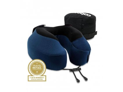 Cabeau Evolution S3 Cardinal cestovní polštář z paměťové pěny modrý