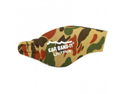 Ear band it Ultra Čelenka na uši na plavání Camo