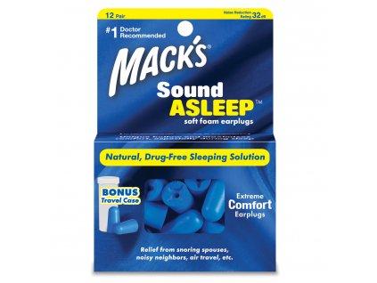 Mack's Sound Asleep - 12 párov  Štuple na spanie