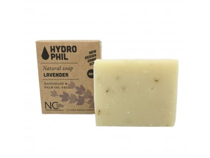 Hydrophil levandule mýdlo
