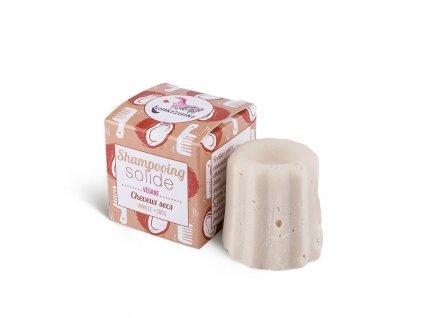 Lamazuna Tuhý šampon pro suché vlasy vanilka a kokos (55 g)