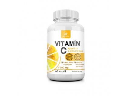 Allnature Vitamín C 1000 mg 60 kapslí