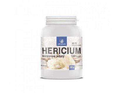 Allnature Hericium Korálovec ježatý kapsle 100 cps