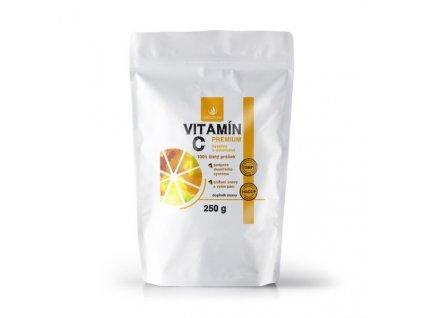 allnature vitamin c prasek premium 250 g