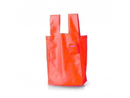 TravelBlue Skládací nákupní taška 22l růžová