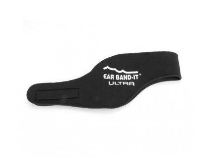 Ear Band-It® Ultra Čierná  Čelenka na plavanie