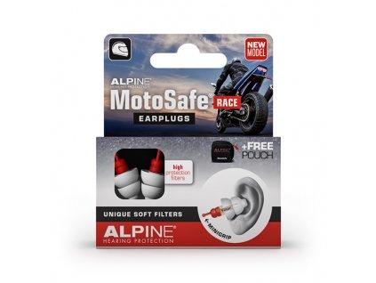 Alpine MotoSafe Race špunty na motorku