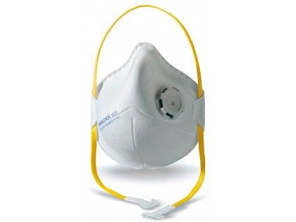 Respirátor FFP3 Moldex Smart portable 2575 s ventilem skládací