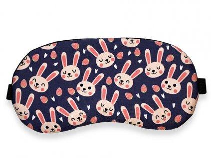 Maska na oči na spaní králičci