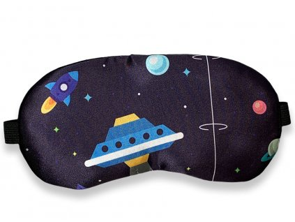 Maska na oči na spaní vesmírná loď