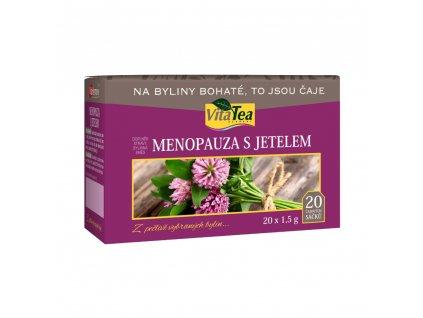 menopauza s jetelem