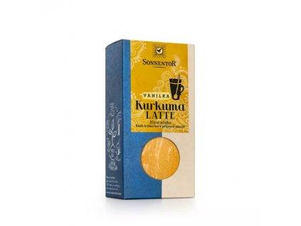 Kurkuma Latte směs bio koření k přípravě nápoje Sonnentor