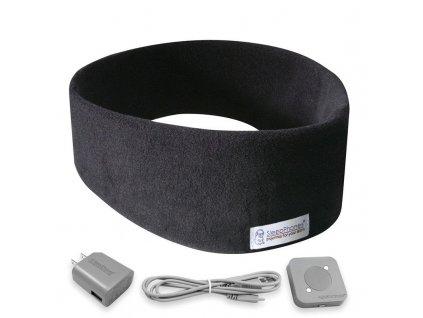 SleepPhones bezdrátová čelenka na spaní černá fleece úvodní fotka