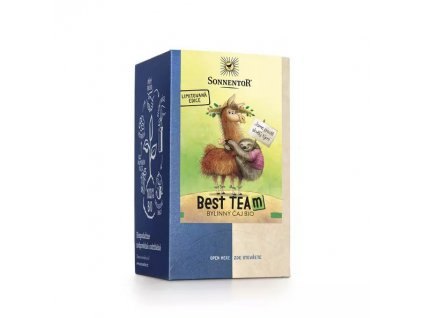 Čaj best team bylinný čaj bio