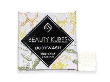 Beauty Kubes tělové mýdlo bílý čaj a citrus 100g
