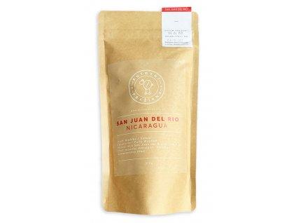 San Juan del Rio Nicaragua putovní pražírna zrnková káva 250g