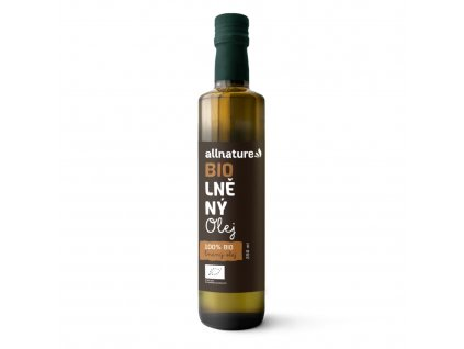 allnature lneny olej bio 250 ml
