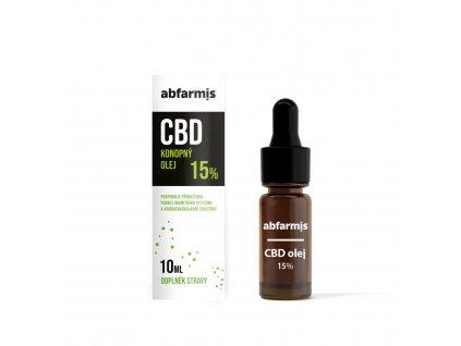 abfarmis cbd olej 15 10 ml