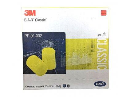 3M™ E A R™ Classic™ Špunty do uší 250 párů