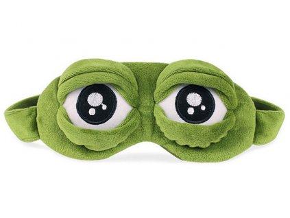 Maska na oči na spaní žába s chladícím packem