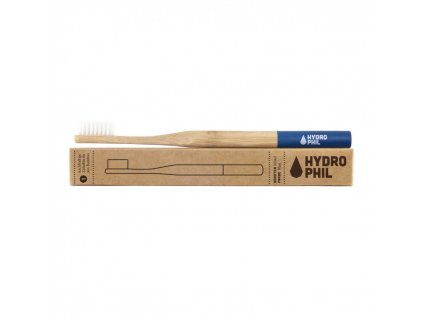 Hydrophil bambusový zubní kartáček Soft Modrý