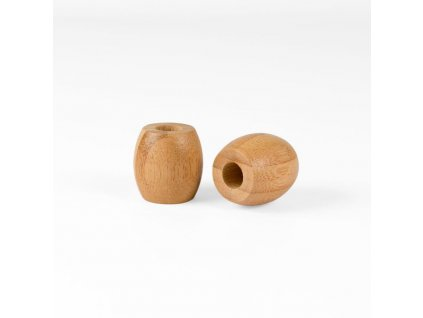 Curanatura malý dřevěný stojánek na kartáček na zuby