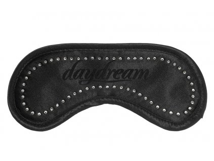Daydream Maska na oči na spaní Swarowski černá s chladícím packem