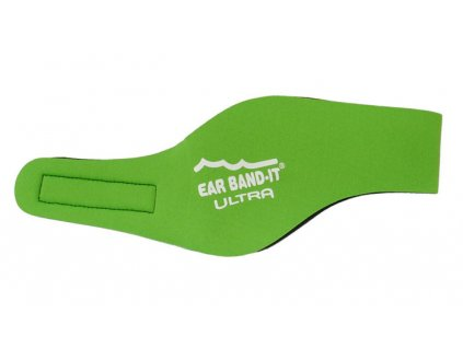 Ear band it Ultra Čelenka na uši na plavání Zelená