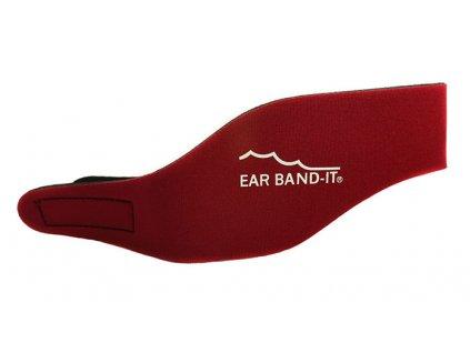 Ear Band It čelenka na uši na plavání Magenta Červená