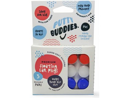 Putty Buddies Ear Plugs štuple do uší do vody