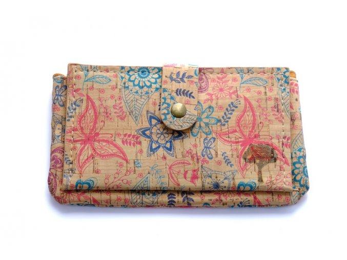 Dámská korková peněženka Earthkarma Korkee