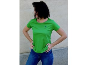 Fairtrade T-Shirt Grün aus Bio Baumwolle