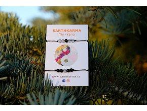 Earthkarma Yin-Yang Armband für Verliebte und Liebende