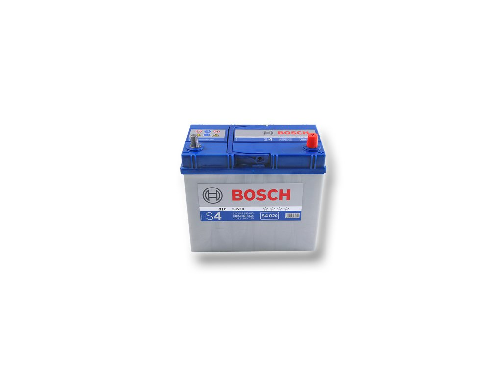 Autobaterie BOSCH S4 020, 45Ah, 12V (0 092 S40 200)