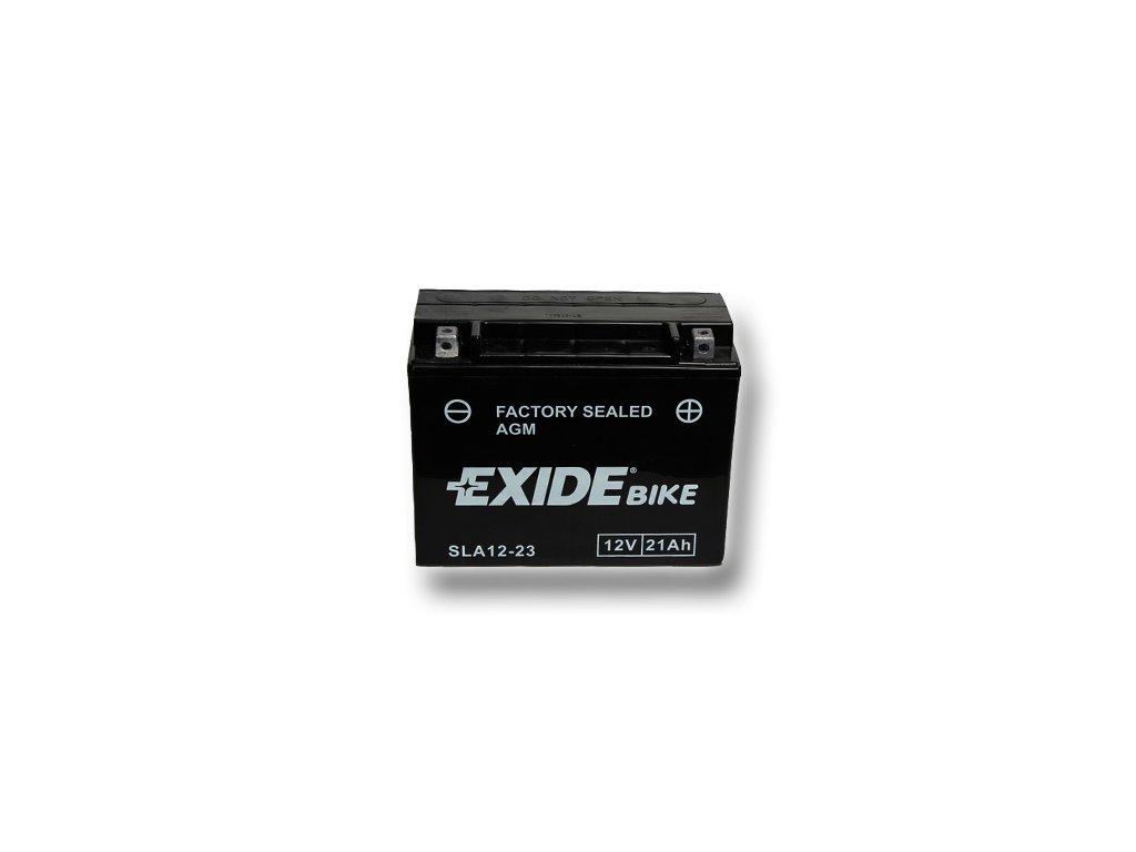Motobaterie EXIDE BIKE Factory Sealed 21Ah, 12V, AGM12-23 (YTX24HL-BS)