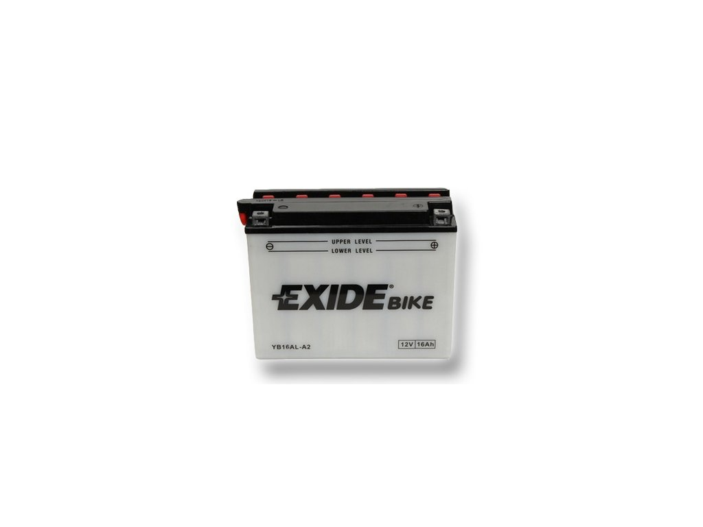 Motobaterie EXIDE BIKE Conventional 16Ah, 12V, YB16AL-A2