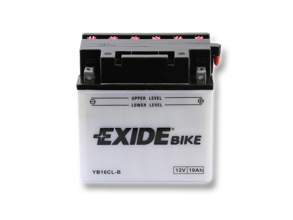 Motobaterie EXIDE BIKE Conventional 19Ah, 12V, YB16CL-B