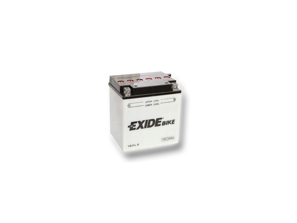 Motobaterie EXIDE BIKE Conventional 30Ah, 12V, YB30L-B