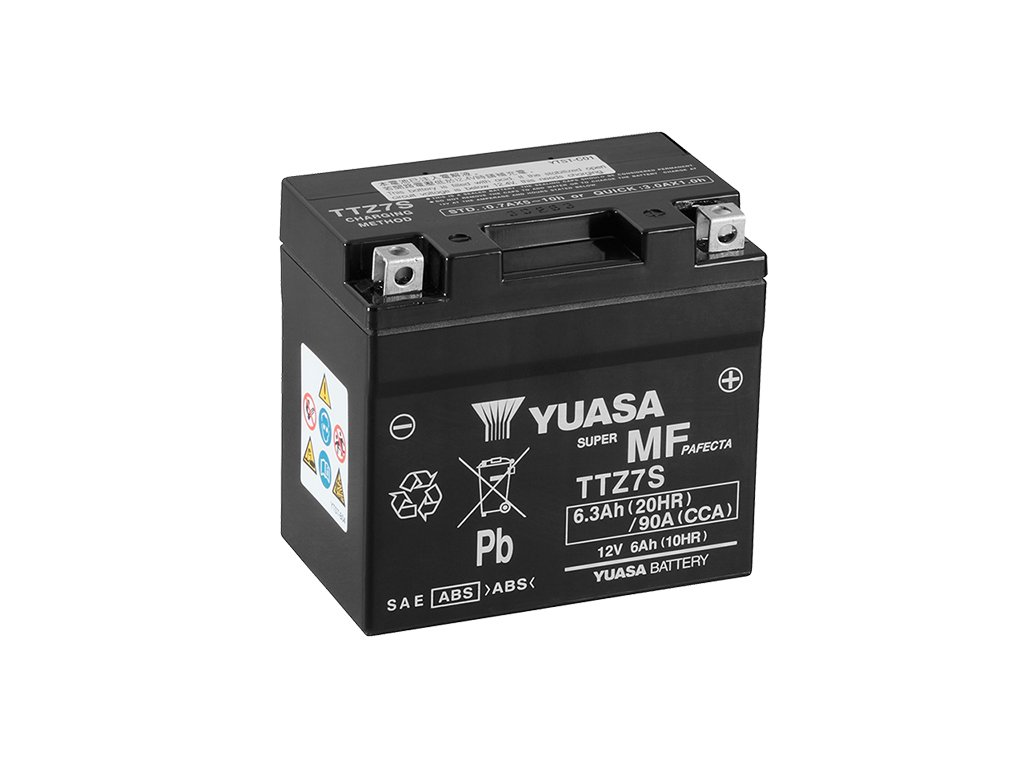 Motobaterie YUASA TTZ7S-BS, 12V,  6Ah