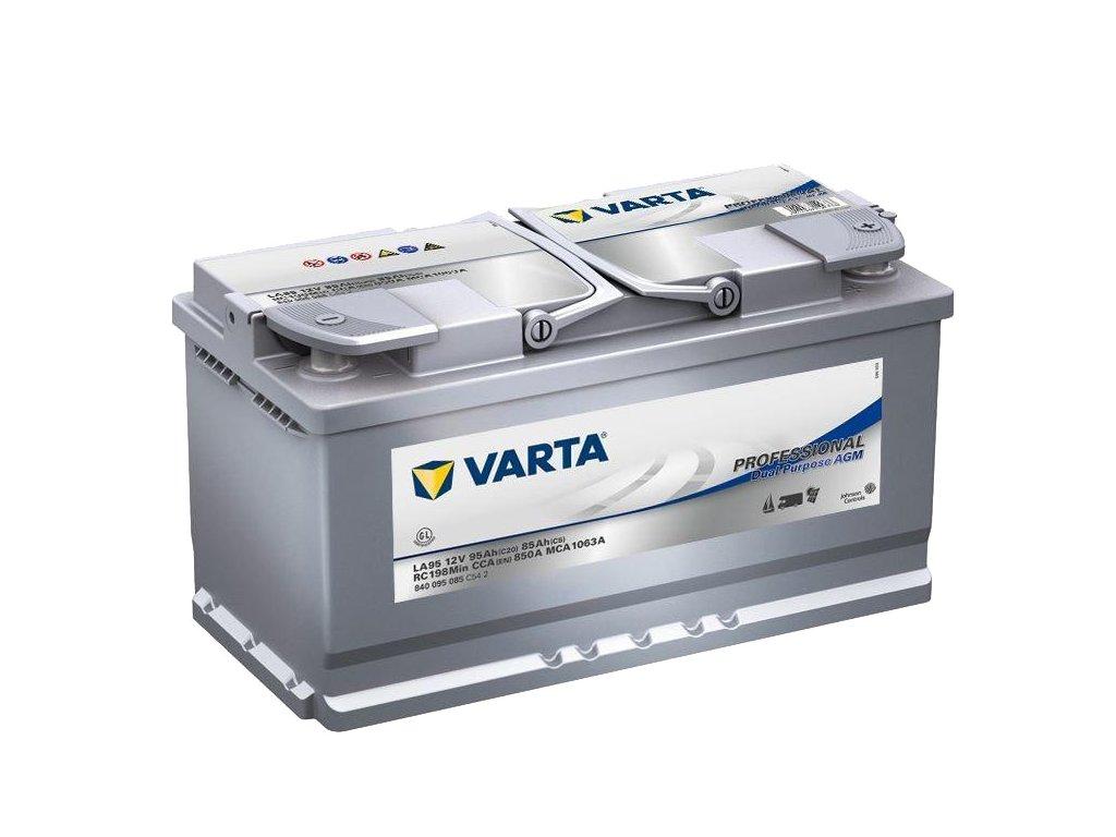 Trakční baterie Varta Professional Dual Purpose AGM 840 095 085, 12V - 95Ah, LA95