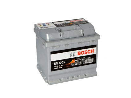 Autobaterie BOSCH S5 002, 54Ah, 12V (0 092 S50 020)